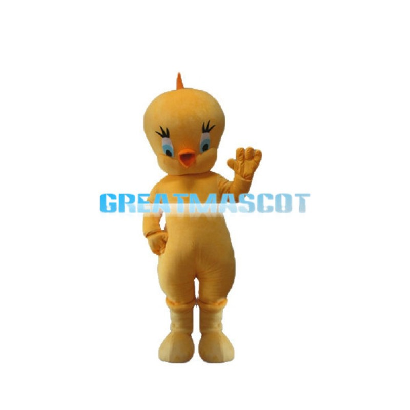Gentle Tweety Bird Mascot Adult Costume