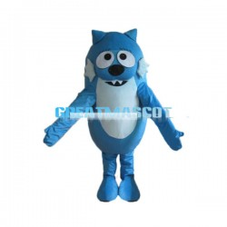 Cute Cartoon Wolf Lightweight Mascot  Costume