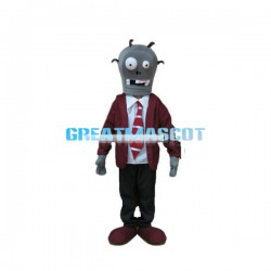 Adult Size Fierce Zombie Mascot  Costume For Halloween Party