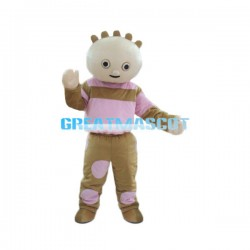 Cute Girl Cartoon Mascot Costume For Adult