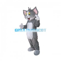 Cute Tom Cat Mascot Costume
