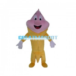 Adult Cartoon Strawberry Ice Cream Cone Lightweight Mascot Costume