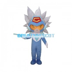 MOBA End Game Character Blue Mascot Costume