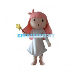 Sweet Angel Girl Mascot Costume