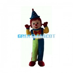 Happy Gymbo The Clown Mascot Costume