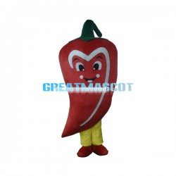 Deluxe Cartoon Red Chili Lightweight Mascot Costume
