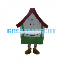 Cute Cartoon House Lightweight Mascot Adult Costume