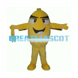 Huge Cartoon Lemon Lightweight Mascot Adult Costume