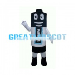 Huge Cartoon Battery Mascot Adult Costume