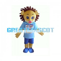 Advertising Lion Mascot Costume