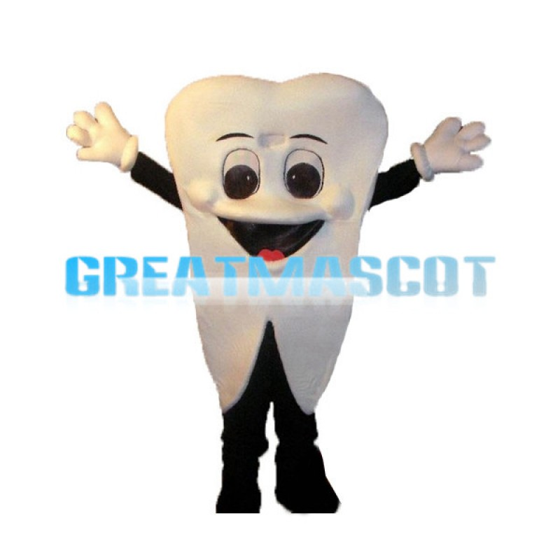 Cartoon Tooth Lightweight Mascot Costume For Adult