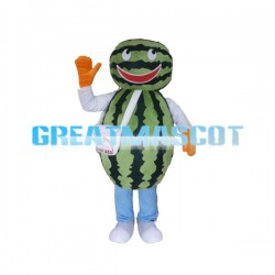Watermelon Man Mascot Costume