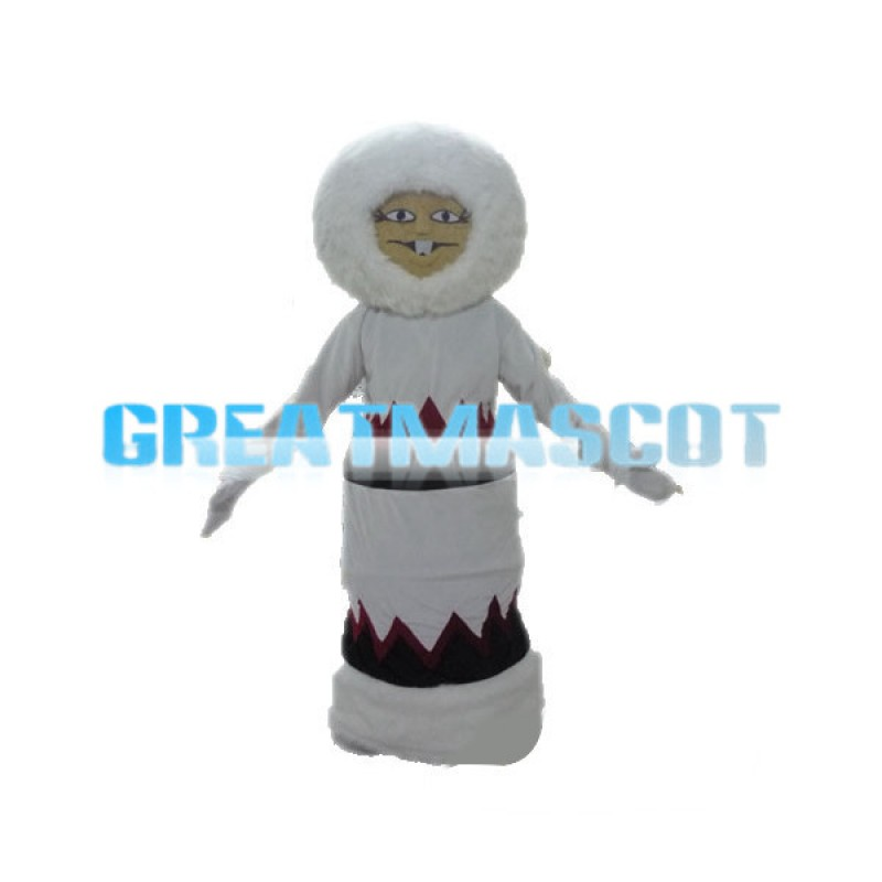 Friendly Witch Mascot Adult Costume