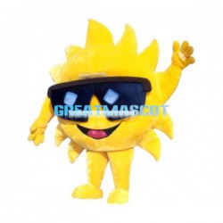 Cool Cartoon Sun Lightweight Mascot Adult Costume