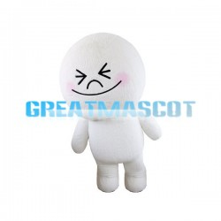 Adult Cartoon Cute Bun Mascot Costume