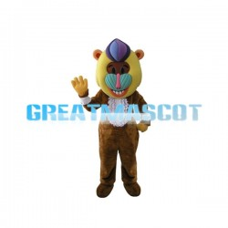 Mandrill Mascot Adult Costume