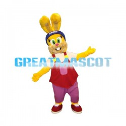 Pascoal the Lacta Easter Rabbit Mascot Adult Costume