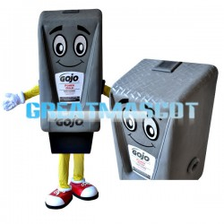 Lightweight Cartoon Gojo Soap Dispenser Mascot Adult Costume