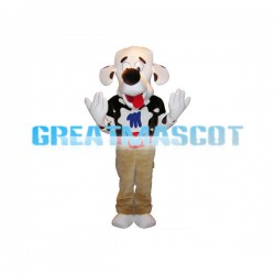 Adult Size Cute Dalmatian Mascot Animal Fancy Dress Costume