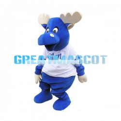 Adult Blue Buffalo Mascot Costume