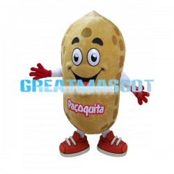 Quito the Peanut Mascot Adult Costume