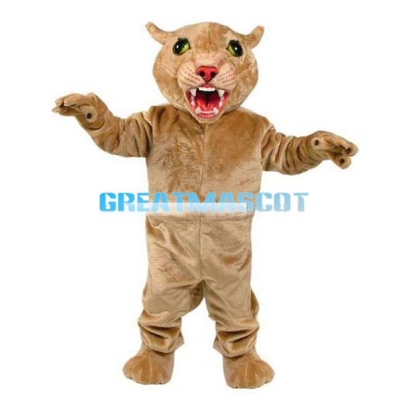 Fierce Little Lion Mascot Adult Costume