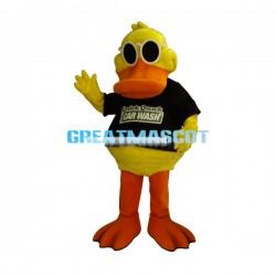 Odd Quackals the Duck Mascot Adult Costume