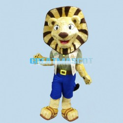 Folly Lion Mascot Adult Costume
