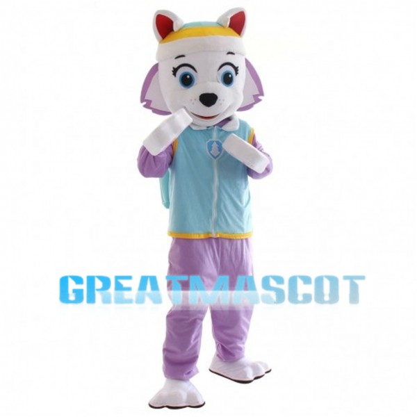 Snow Rescue Dog Everest Mascot Costume