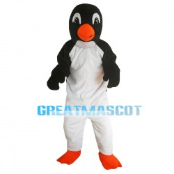 Slim Tall Adult Penguin Mascot Costume
