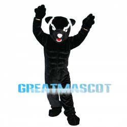 Powerful Black Panther Mascot Costume