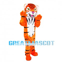 Ferocious Strong Tiger Mascot Costume