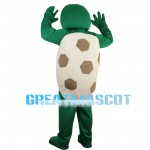 Blue Eyes Turtle With Flower Mascot Costume