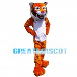 Tiger On Hips Mascot Costume