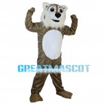 Strong Powerful Leopard Mascot Costume