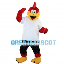 Pointed Mouth Fox Mascot Costume