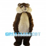 Naive Chipmunk Carefully Foraging Mascot Costume