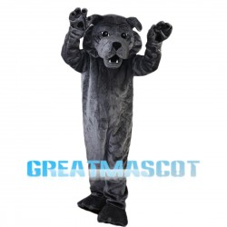 Sinister Grey Wolf Mascot Costume
