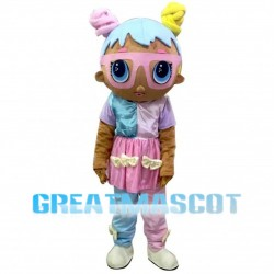 Adult Pink LOL Surprise Doll Mascot Costume