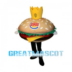 Huge Beef Burger Mascot Costume