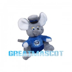 Grey Small Mouse Mascot Costume