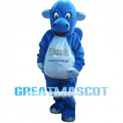Lovely Blue Calf Mascot Costume