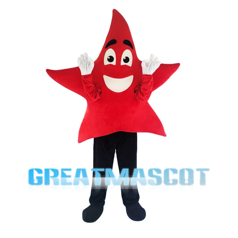 Red Pentagram Mascot Costume