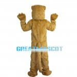Brown Beaver Mascot Costume For Party