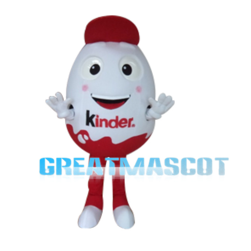 Chocolate Toy Egg Mascot Costume
