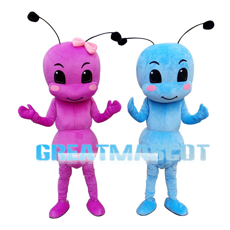 Hard-working Bright Ant Mascot Costume
