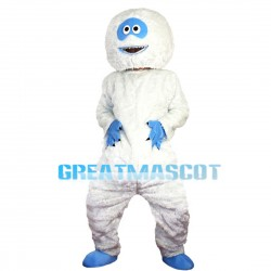 Strange White Fur Monster With Sharp Nails Mascot Costume