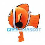 Amphiprioninae Marlin And Paracanthurus Hepatus Dory Mascot Costume