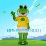 Cartoon Different Shapes Frog Mascot Costume