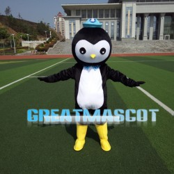 Cute Doctor Penguin Peso Mascot Costume